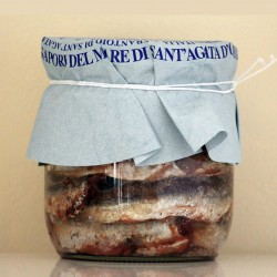 FILET D'ANCHOIS AU SEL DE LIGURE - 500 g