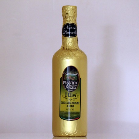 """HUILE D'OLIVE EXTRA VIERGE - """"I CLIVI""""  75 cl"""