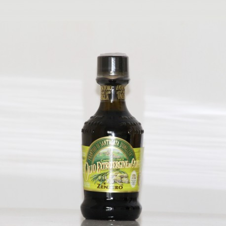 HUILE D'OLIVE EXTRA VIERGE -AU GINGEMBRE - 10 cl