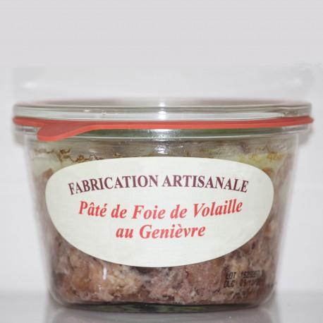 PÂTÉ DE FOIE DE VOLAILLE AU GENIÈVRE DE HOULLE - 270 g