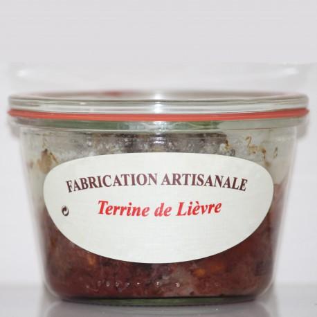 TERRINE DE LIÈVRE -270 g