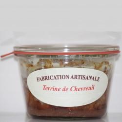 TERRINE DE CHEVREUIL - 270 g