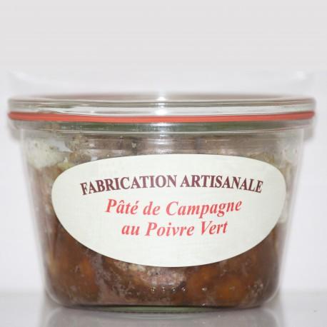 PÂTÉ DE CAMPAGNE AU POIVRE VERT -100 g