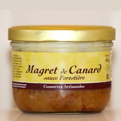 MAGRET DE CANARD SAUCE FORESTIÈRE - 400 g