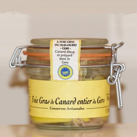 FOIE GRAS de CANARD ENTIER   IGP GERS - 180 g