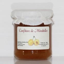CONFITURE DE MIRABELLES - 250 g