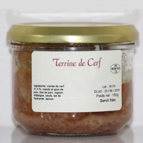TERRINE DE CERF- 180 g