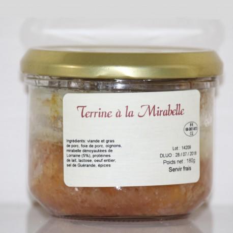 TERRINE À LA MIRABELLE - 180 g