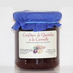 CONFITURE DE QUETSCHES À LA CANNELLE - 250 g