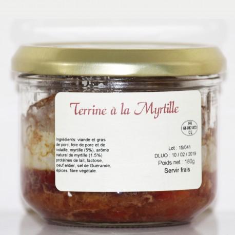 TERRINE AUX MYRTILLES- 180 g