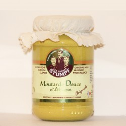 MOUTARDE DOUCE D'ALSACE TRADITIONNELLE - 200 g
