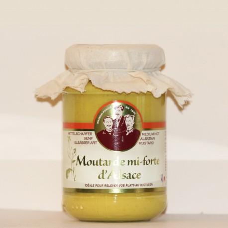 MOUTARDE MI-FORTE D'ALSACE - 200 g