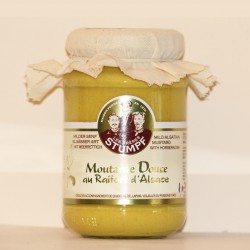 MOUTARDE DOUCE AU RAIFORT D'ALSACE  - 200 g