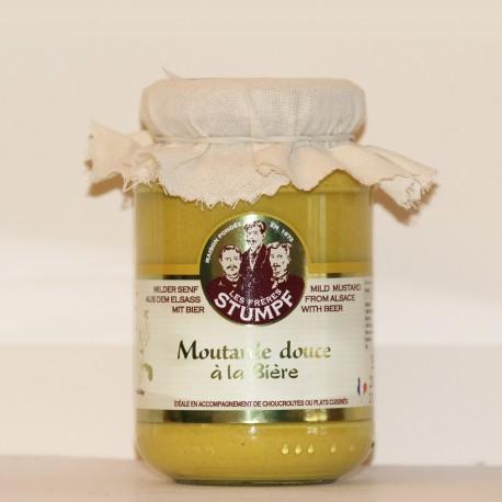 MOUTARDE DOUCE D'ALSACE À LA BIÈRE - 200 g