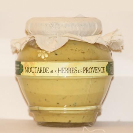 MOUTARDE AUX HERBES DE PROVENCE - 200 g