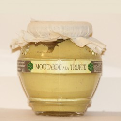 MOUTARDE AUX TRUFFES (AROMATISÉE) - 200 g