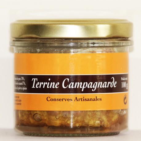 TERRINE CAMPAGNARDE - 120 g